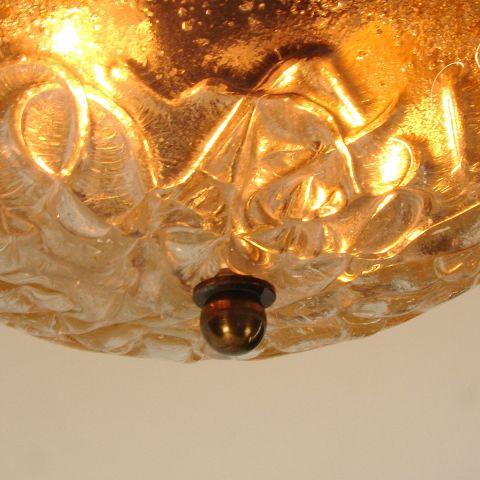 Handmade Murano kristallen plafond/wandlamp in klassieke stijl 'Bella' Grieks Design van Mavros.