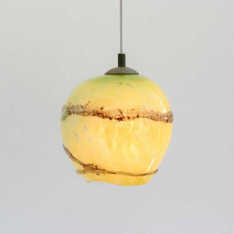Mondgeblazen hanglamp 'Bumble Bee III'