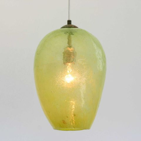 Mondgeblazen hanglamp 'Mango'