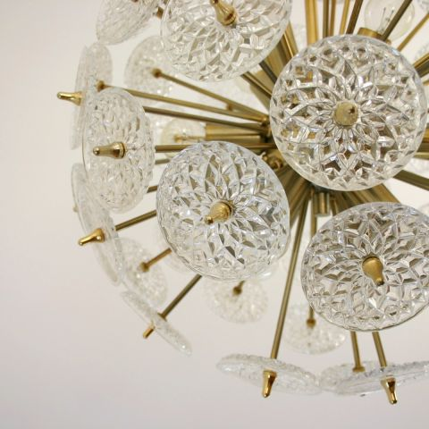Sputnik kristallen hanglamp  'Snowball'