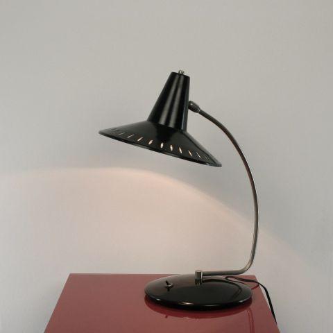 Bureaulamp- tafellamp Dutch Design van J. Hoogervorst voor Anvia Almelo