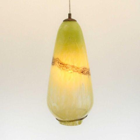 Mondgeblazen hanglamp 'Sweet Palmyra IV'
