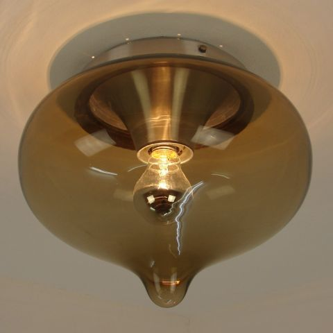 Plafondlamp 'Druppel', Dutch Design, Dijkstra