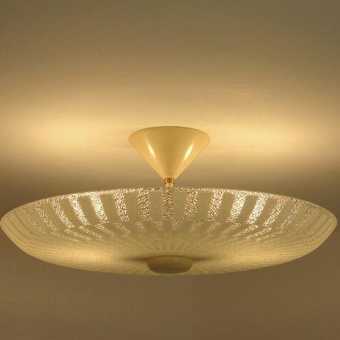 Uitzonderlijk mooie grafische plafondlamp Dutch Design van Philips