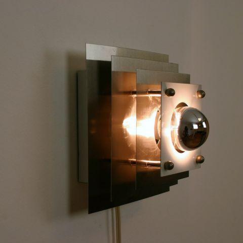 Architectonische Kubistische Wandlamp