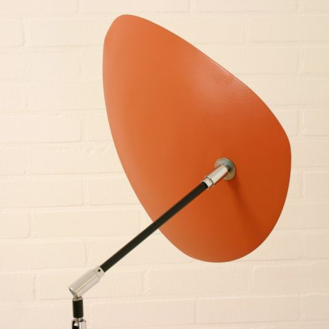 Zeldzame moderne Vloerlamp Italiaans Design uit de jaren 80