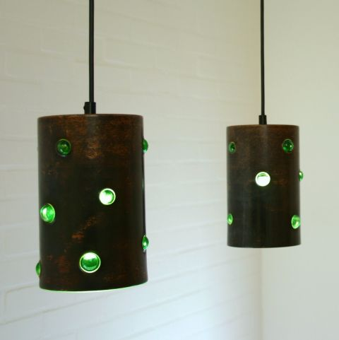 Hanglamp Duo Handmade Dutch Design Philips/Peill & Putzler, Nanny Still