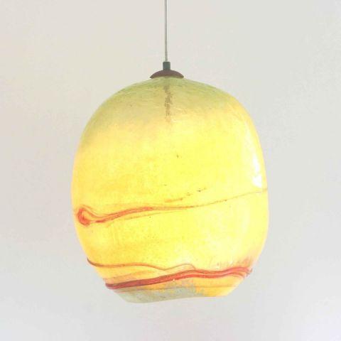Mondgeblazen hanglamp 'Sunset II'