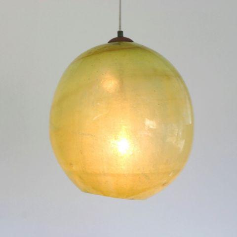 Mondgeblazen hanglamp 'Pamelo'