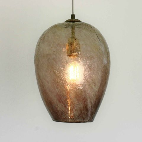Mondgeblazen hanglamp 'Areca II '