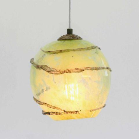 Mondgeblazen hanglamp 'Bumble Bee II'