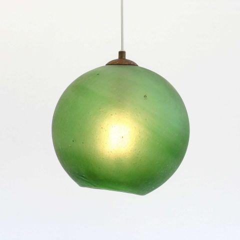 Mondgeblazen hanglamp 'Imperial Jade'