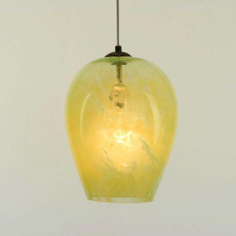 Mondgeblazen hanglamp 'Mango II'