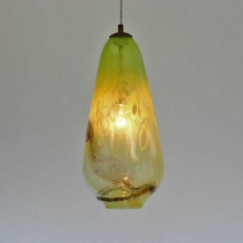 Mondgeblazen hanglamp 'Sweet Palmyra III'