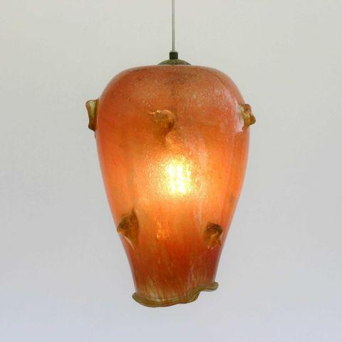 Mondgeblazen hanglamp 'Prickly Pear III'