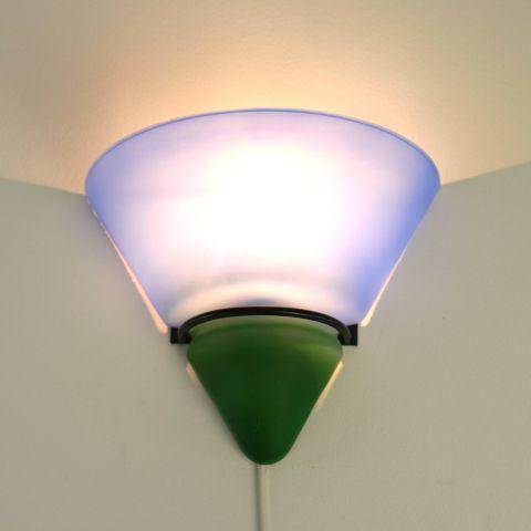 Glazen scone lampje