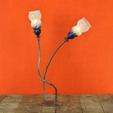 Unica Dutch Design glaskunst tafellamp van Miranda van der Waal