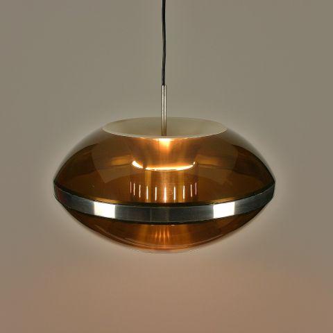 Hanglamp Dutch Design van Dijkstra uit het Space Age tijdperk