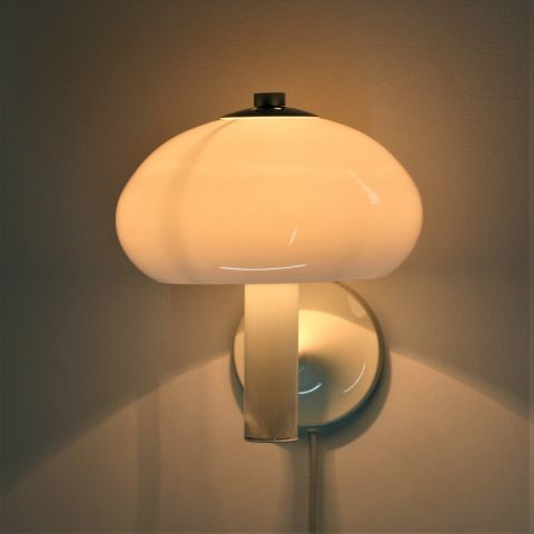 Paddenstoel wandlamp