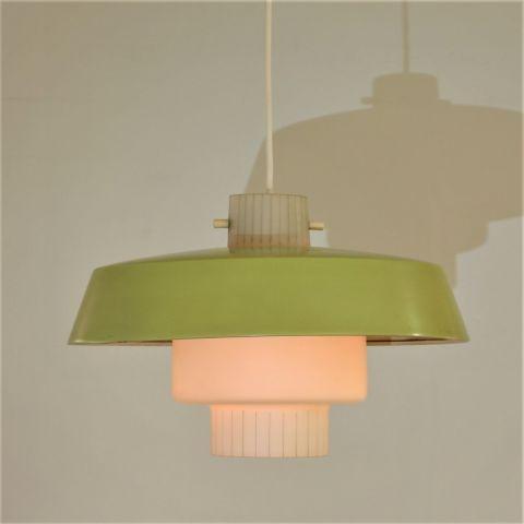 Jaren 50 Hanglamp zeldzame Deens Design klassieker.