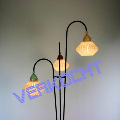 Vintage jaren 50 Vloerlamp