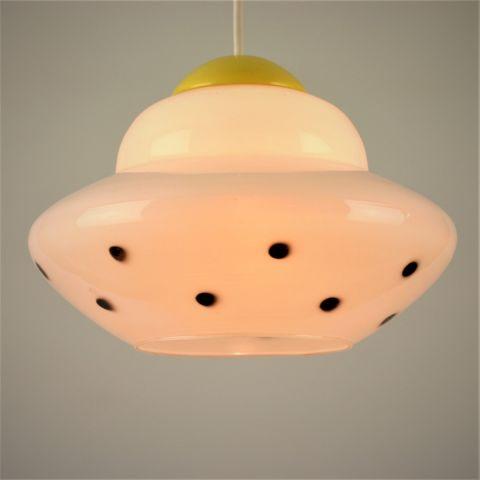 Zeldzame jaren 50 Hanglamp Dutch Design van Louis Kalff voor Philips