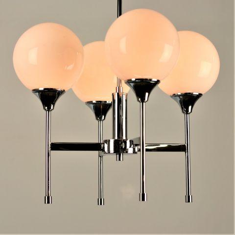 Italiaanse Design Klassieker hanglamp 'Trompet' van Sciolari