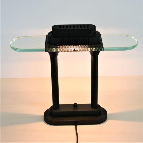 Bankierslamp 'Penta' design Robert Sonneman voor George Kovacs USA