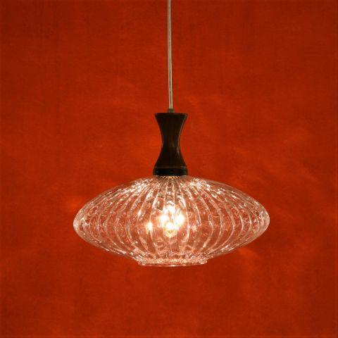 Jaren 50 Scandinavisch vintage design hanglamp 'Ufo' voor Massive, België