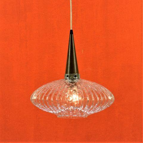 Zeldzame jaren 50 Scandinavisch vintage design hanglamp 'Ufo' voor Massive, België